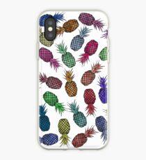 Vinilo o funda para iPhone Hawaiian Pineapple Watercolor Pattern
