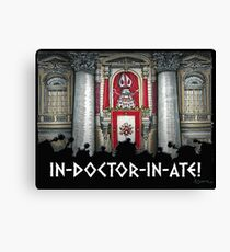 Dalek Pope XVII Canvas Print