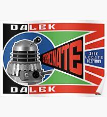 Dalek Deconstructivism Poster