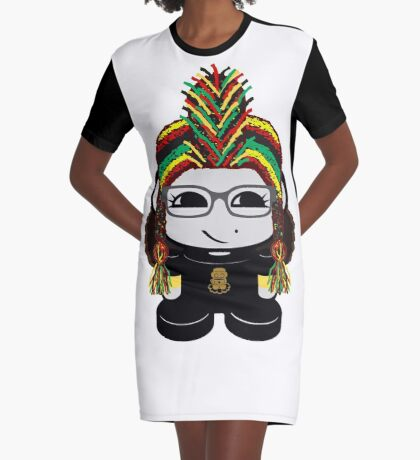 Oyo Yo O'BOT Toy Robot 1.0 Graphic T-Shirt Dress