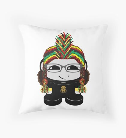 Oyo Yo O'BOT Toy Robot 1.0 Throw Pillow