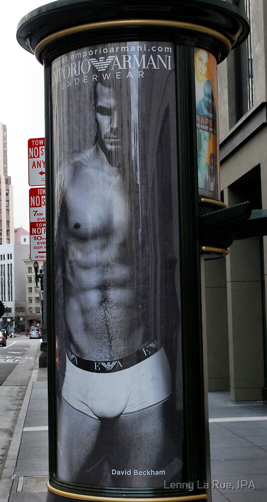 Armani - EXPLOSIVELY effective advertising by Lenny La Rue, IPA