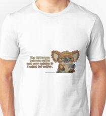 Drop Bear Coffee Opinion Unisex T-Shirt