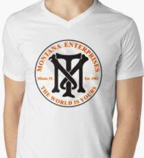 Montana Enterprises Men's V-Neck T-Shirt