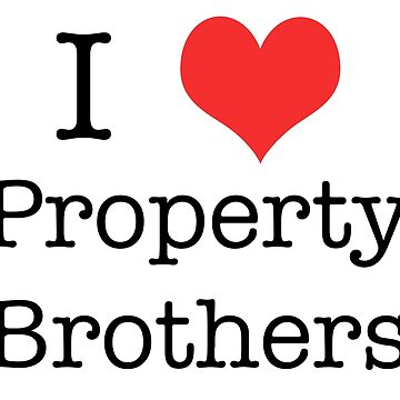 Property Brothers T-Shirts for Men and Women by 815seo