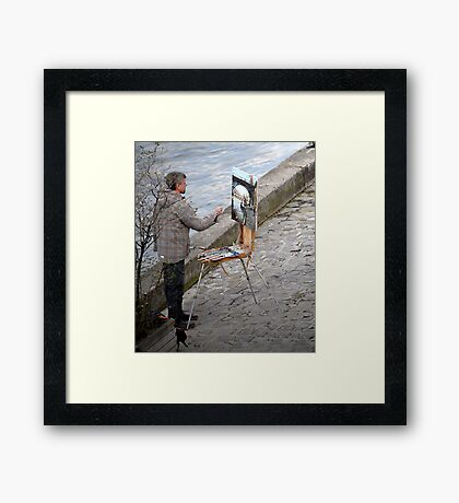 Seine artist Framed Print