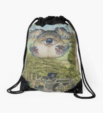 Drop Bear Mammoth Drawstring Bag