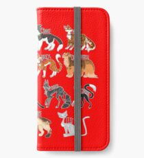 Every Named Bloodclan Cat Ever iPhone Wallet/Case/Skin