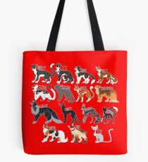 Every Named Bloodclan Cat Ever Tote Bag