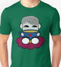 STPC: Haha Do O'BOT Toy Robot (Tea) Slim Fit T-Shirt