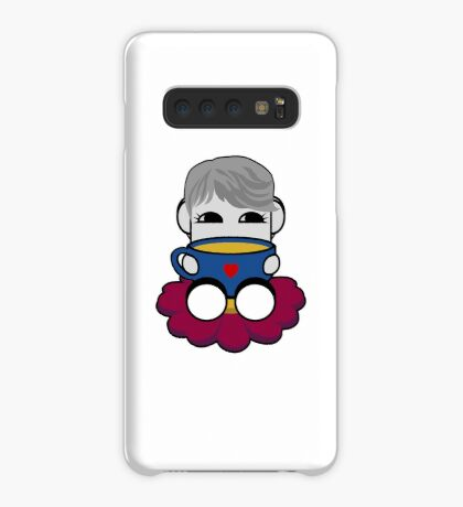 STPC: Haha Do O'BOT Toy Robot (Tea) Case/Skin for Samsung Galaxy