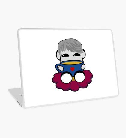 STPC: Haha Do O'BOT Toy Robot (Tea) Laptop Skin