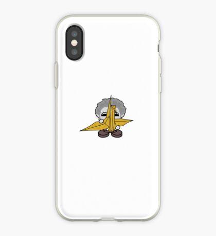 STPC: Grandpa Yo O'BOT Toy Robot (Origami Crane) iPhone Case