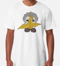 STPC: Grandpa Yo O'BOT Toy Robot (Origami Crane) Long T-Shirt
