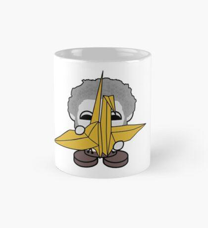 STPC: Grandpa Yo O'BOT Toy Robot (Origami Crane) Mug