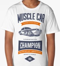 MUSCLE CAR CHAMPION - Superior Motors Long T-Shirt