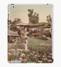 Iris garden at Horikiri, Japan iPad Case/Skin