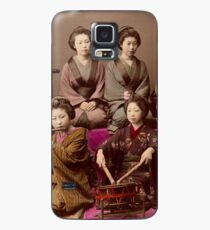 Group of Geisha playing music Case/Skin for Samsung Galaxy