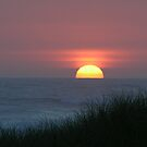 Sunset at Waldport by Martha Johnson