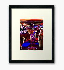 Martini Time !!!  Framed Print
