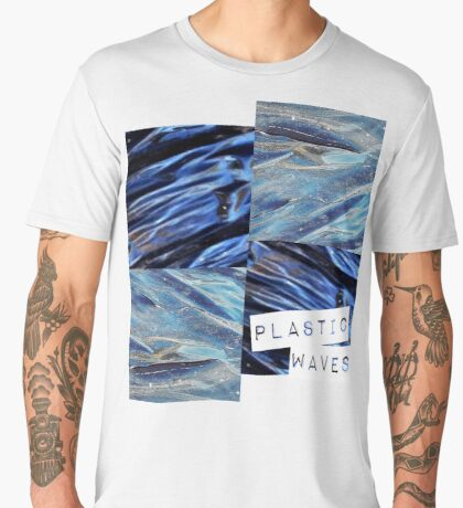 plastic waves  Men's Premium T-Shirt