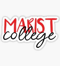 Marist College  Sticker