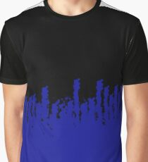 Rural Blue Graphic T-Shirt