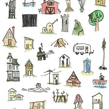Tiny Houses by mesbensen