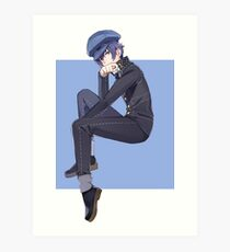 Detective Prince Deep in Thought Art Print