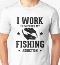 Fishing Addiction Unisex T-Shirt