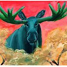 The Purest of Moose by ardenrachelart
