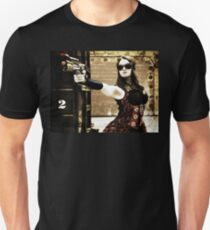 The Steampunker: Raven the Renegade Unisex T-Shirt