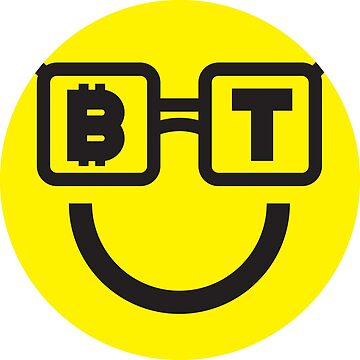 Bitcoin Nerdy Smiley by Bitcoin-Smiley