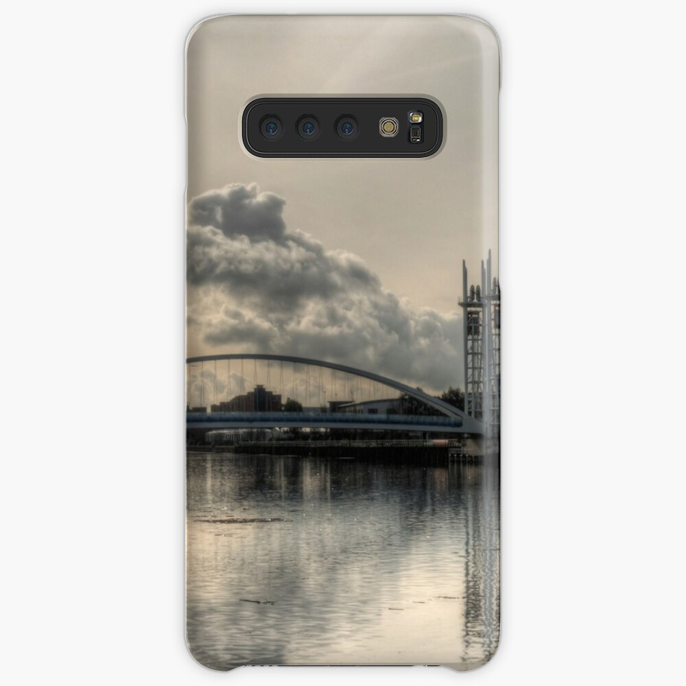 Bridge over Salford Quays, Manchester, UK Case & Skin for Samsung Galaxy