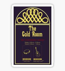 The Gold Room Sticker