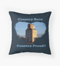Country Born- Country Proud Floor Pillow