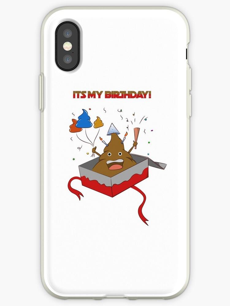 Its My Birthday Poop Emoji T Shirt