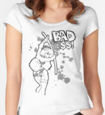 Bad @$$ Women's Fitted Scoop T-Shirt