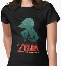 The Legend of Zelda: Wind Waker Women's Fitted T-Shirt