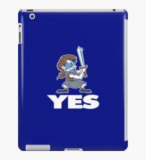 Scotland Independence - YES !!! iPad Case/Skin