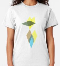 Abstract Wolf Owl  Classic T-Shirt