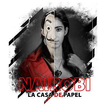 PAPEL NAIROBI CASA - PAPEL TV LACASA - The papel casa TV series by Theworrior