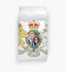 Prince Harry and Meghan Markle Duvet Cover