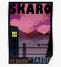 SKARO QUICKER BY TARDIS Poster