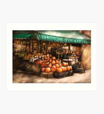 The Fruit Market Art Print