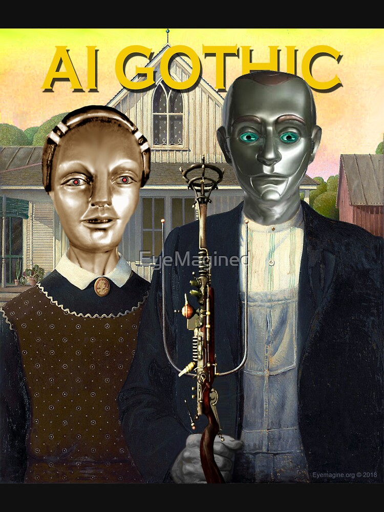 AI Gothic by EyeMagined