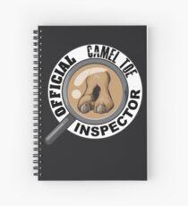 Cuaderno de espiral Inspector camel toe