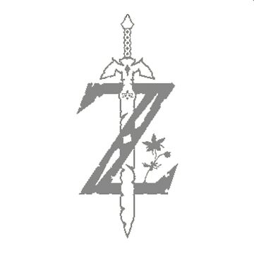 Breath Of The Wild Z Silver by TheKalebFishStore