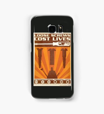 Time War Propaganda II Samsung Galaxy Case/Skin