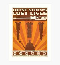 Time War Propaganda II Art Print
